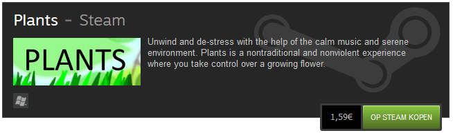 Plants on Steam